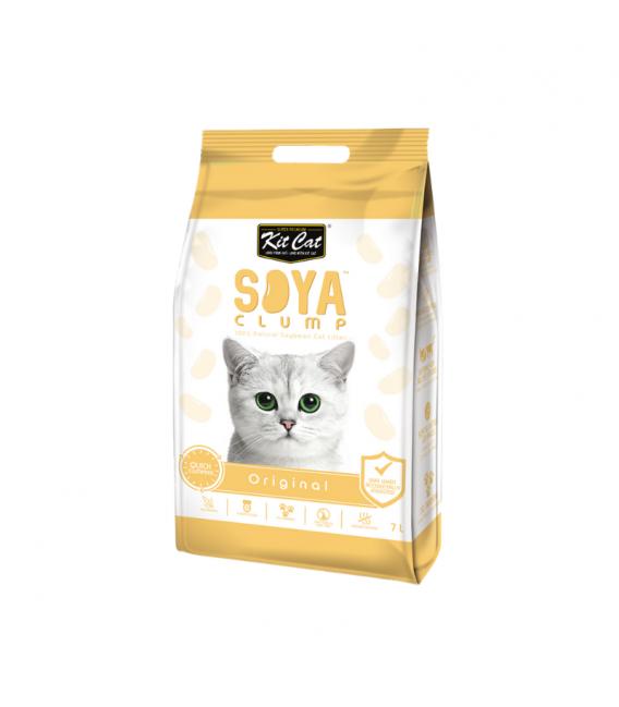 Kit Cat Soya Clump Original 4kg Cat Litter