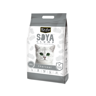Kit Cat Soya Clump Charcoal 4kg Cat Litter