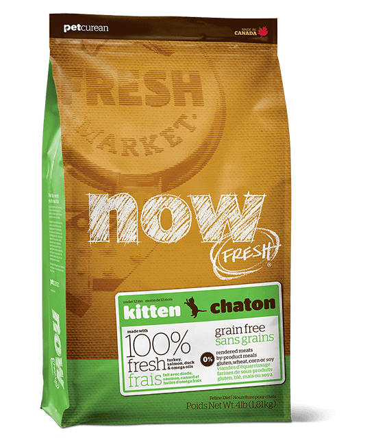 Now Fresh Grain-Free Kitten Dry Food