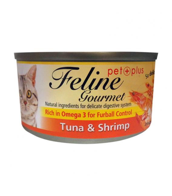 Feline Gourmet Tuna and Shrimp 80g Cat Wet Food