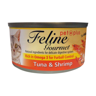 Feline Gourmet Tuna and Shrimp 80g Cat Wet Food