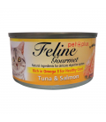 Feline Gourmet Tuna and Salmon 80g Cat Wet Food