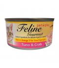 Feline Gourmet Tuna and Crab 80g Cat Wet Food