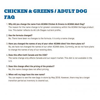 Acana Heritage Adult Dog Dog Dry Food