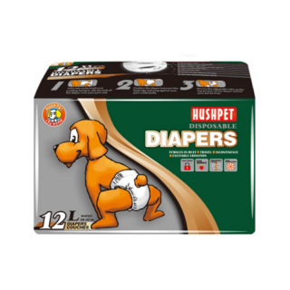 Hush Pet Disposable Pet Diaper