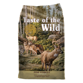 Taste of the Wild Pine Forest with Venison and Legumes Grain Free 12.2kg Dog Dry Food