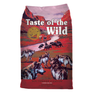 Taste of the Wild Southwest Canyon with Wild Boar Grain Free 12.2kg Dog Dry Food