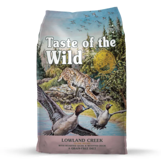 Taste of the Wild Lowland Creek with Roasted Quail and Roasted Duck 5.6kg Cat Dry Food