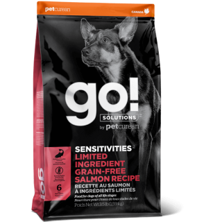 Go! Sensitivities Limited Ingredient Grain Free Salmon Recipe Dog Dry Food