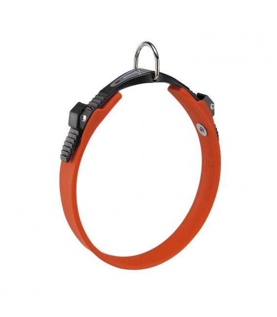 Ferplast Ergoflex C 18/33 - 33cmx18mm Orange Dog Collar