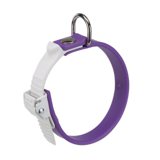 Ferplast Ergoflex C 15/25 - 25cmx15mm Purple Dog Collar