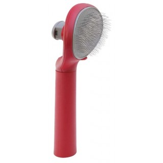 Le Salon Essentials Self-Cleaning Dog Slicker Brush