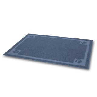 Petmate Blue Large Litter Catcher Mat