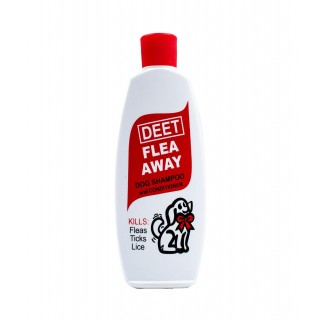 Flea Away Flea and Tick Deet 120ml Dog Shampoo and Conditioner