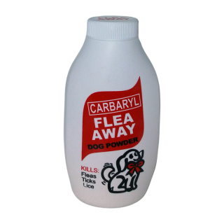 Flea Away Flea and Tick Carbaryl 75g Dog Powder