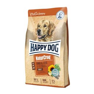 Happy Dog NaturCroq Adult Rind and Reis 1kg Dog Dry Food