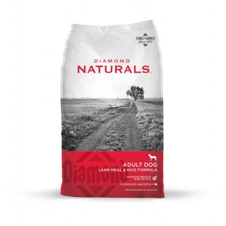 Diamond Naturals Lamb and Rice 18kg Dog Dry Food