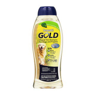 Sergeant's Gold Flea and Tick Green Tea and Ginger 532ml Dog Shampoo