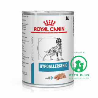 Royal Canin Veterinary Diet HYPOALLERGENIC 400g Dog Wet Food