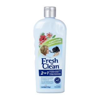 Fresh 'n Clean 2-N-1 Tropical Fresh 533ml Dog Oatmeal Shampoo + Conditioner