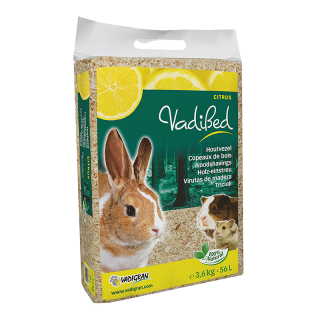 Vadigran Vadibed Woodshavings Citrus 56L (3.6kg) Small Pet Bedding