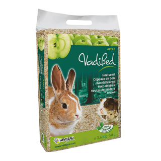 Vadigran Vadibed Woodshavings Apple 56L (3.6kg) Small Pet Bedding