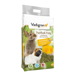 Vadigran Herbal Dandelion 500g Small Pet Hay