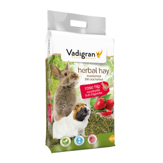 Vadigran Herbal Rose Hip 500g Small Pet Hay