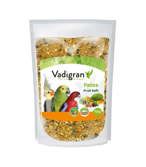 Vadigran Patee Soft Fruit 700g Bird Food