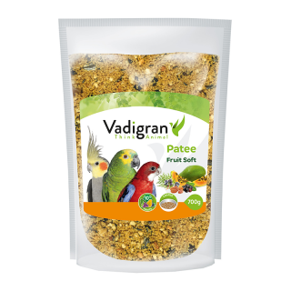 Vadigran Patee Soft Fruit 700g Bird Food