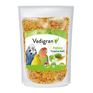 Vadigran Patee Soft Tropical 700g Bird Food