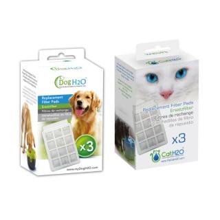 Cat H2O & Dog H2O Replacement Filter Pads (3pcs)