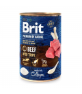 Brit Premium by Nature Beef with Tripe 400g Dog Wet Food