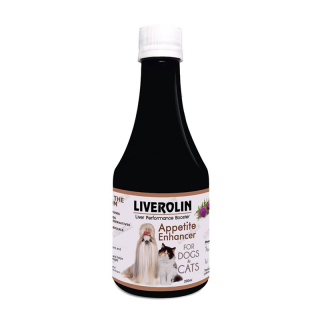 Liverolin Liver Performance Booster 200ml Dog and Cat Appetite Enhancer