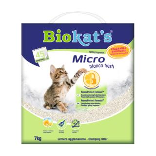 Biokat's Micro Bianco Fresh 7kg Cat Litter