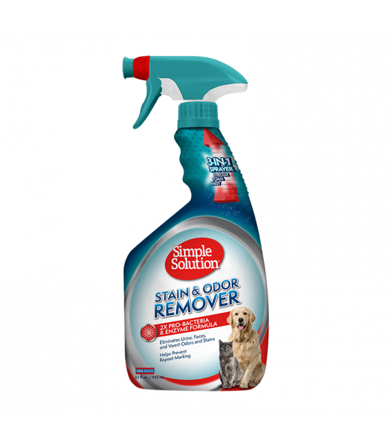 Simple Solution Stain & Odor Remover 945ml Pet Spray