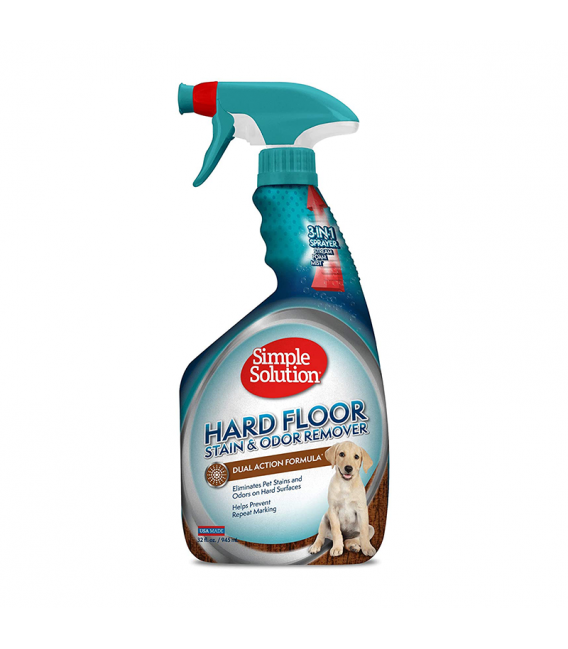 Simple Solution Hard Floor Stain & Odor Remover 945ml Pet Spray
