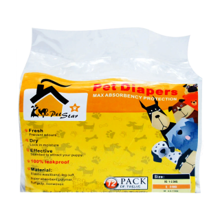 Pet Star Disposable Dog Diaper