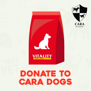 DONATE TO CARA - 1 bag of Dog Food