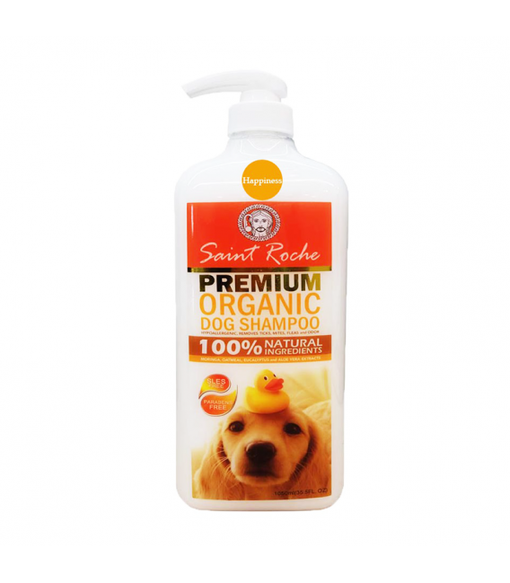 Saint Roche HAPPINESS 1050ml Premium Organic Dog Shampoo