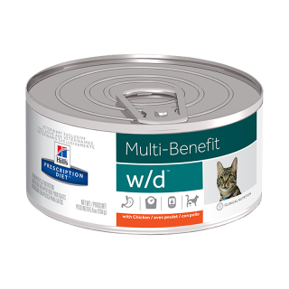Hill's Prescription Diet w/d Multi-Benefit with Chicken 156g Cat Wet Food