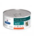 Hill's Prescription Diet w/d Multi-Benefit with Chicken 156g Cat Wet Food