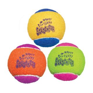 Kong SqueakAir Happy Birthday Ball Medium Dog Toy