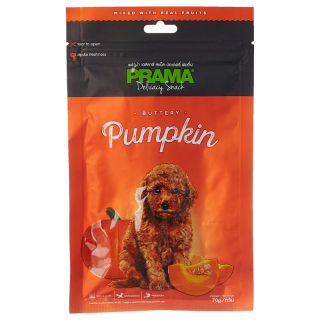 Prama Delicacy Snack Buttery Pumpkin 70g Dog Treats