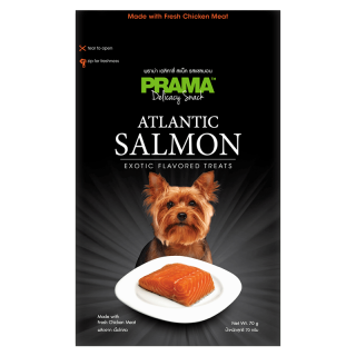Prama Delicacy Snack Salmon 70g Dog Treats