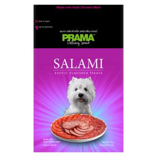 Prama Delicacy Snack Salami 70g Dog Treats