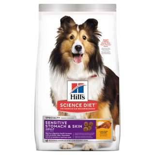 Hill's Science Diet Adult Sensitive Stomach & Skin Chicken Recipe Dog Dry Food