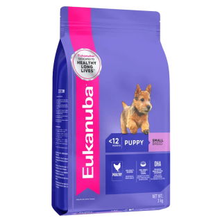 Eukanuba Small Breed Puppy Dry Food