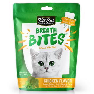 Kit Cat Breath Bites Chicken 60g Cat Treats