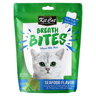 Kit Cat Breath Bites Seafood 60g Cat Treats